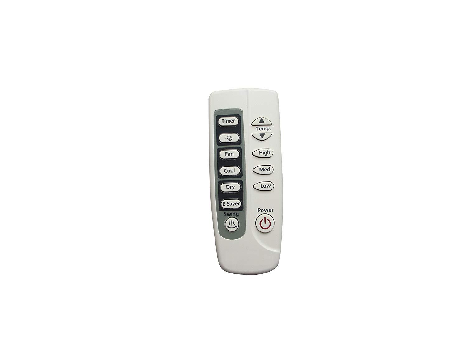 Replaced Air Conditioner Remote Control Compatible for Samsung ARH445 AS09A6MAF AS18FBAN AW07FBNAA AS12FAN AW08FBNAB AW09FBNAA