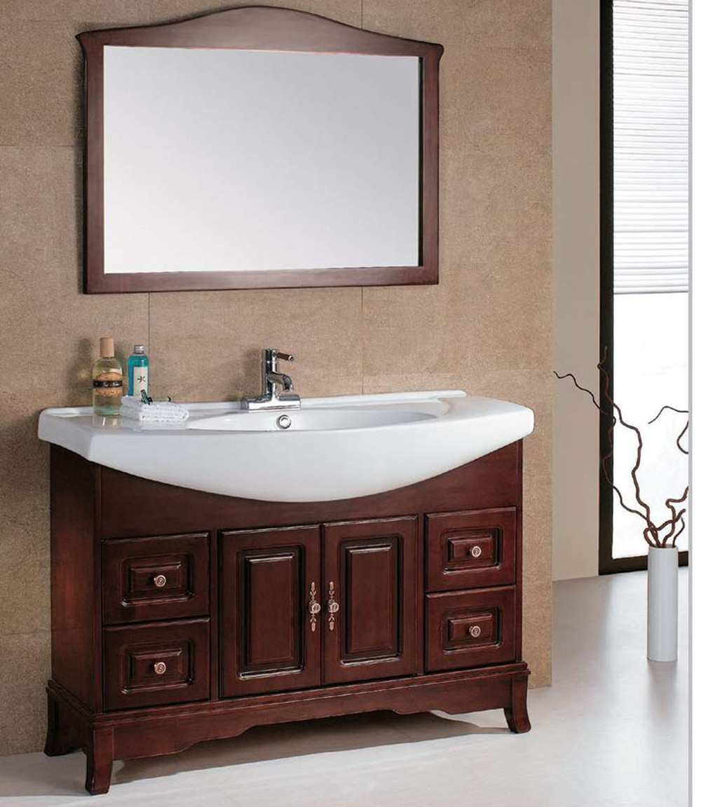 trevett bathroom cabinet shop walnut hardware solid signature vanity mirror wood lp black