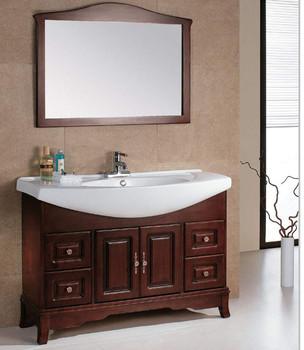 european style solid wood bathroom vanity classic bathroom vanity cabinet furniture set