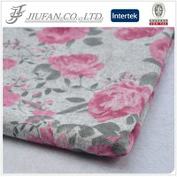 Jiufan Textile 2015 new design african fashion style French Knit 96 Polyester 4 Spandex Fabric Floral Printed