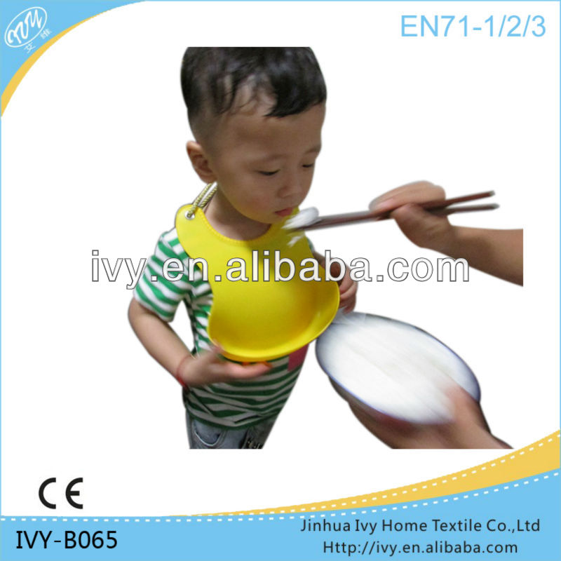Best baby bib silicone rubber baby pinafores