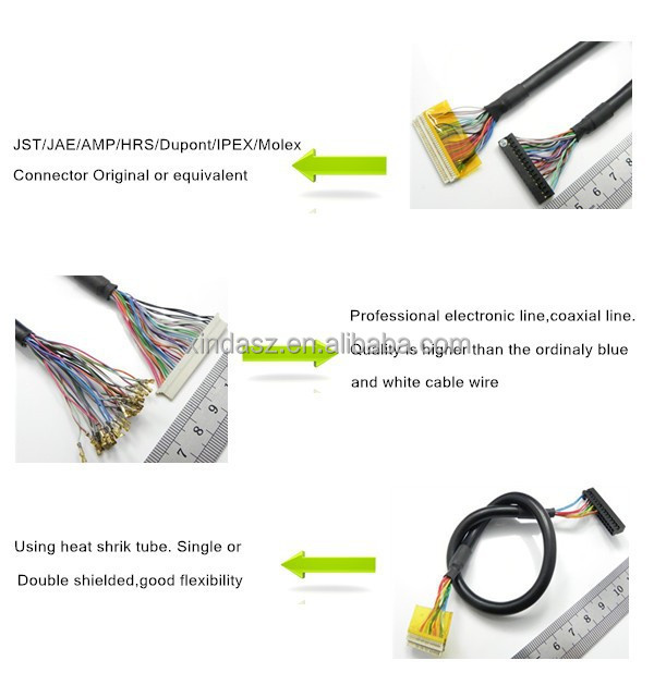 16 pin connector lvds cable car stereo wiring harness buy car 16 pin connector lvds cable car stereo wiring harness