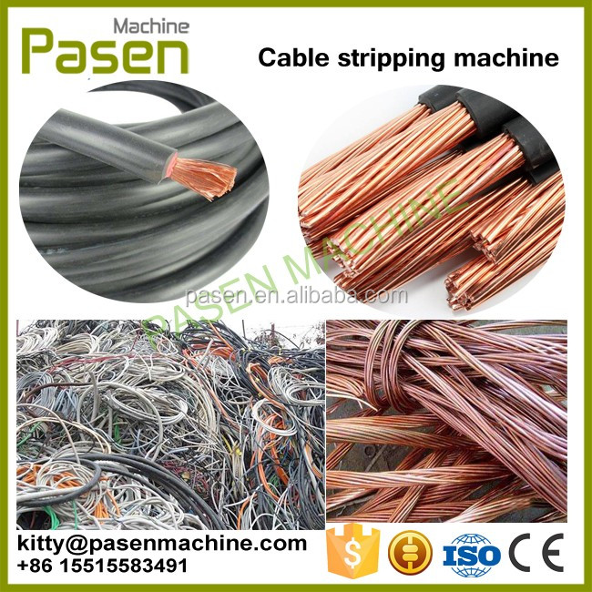 Factory supply Automatic wire 스트리핑 machine/폐 cable 전선 스트리퍼