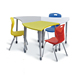 School Sets Specific Use and Commercial Furniture General Use study table and chair for student table classroom desk