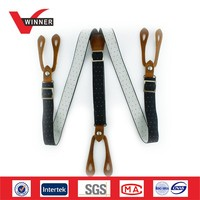 Custom print suspenders belts for Men