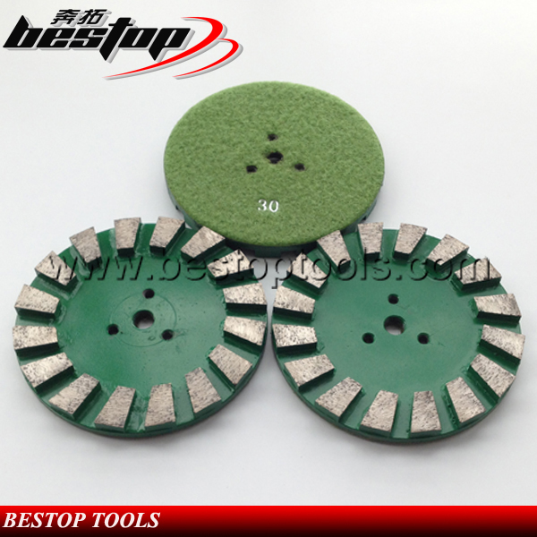 Diamond And Metal Power 3 Inch Grinding Disc With Top Quality