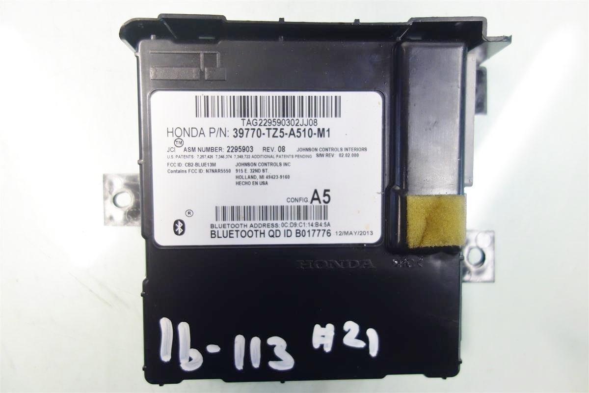 Buy Acura MDX HFT Bluetooth Control Module Unit Computer Tz - Acura mdx bluetooth module