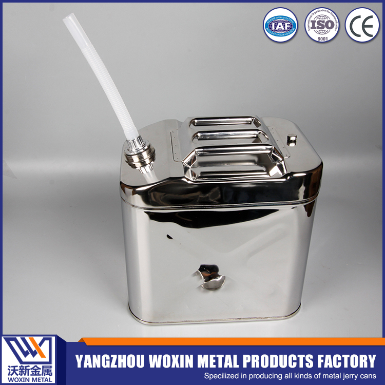 New customized stainless steel small fuel can