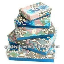 Newest colorful gift paper box for 2012