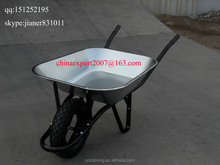 Angola Market Popular Glavanized Wheelbarrow WB6400