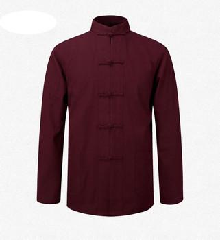 magasin en ligne 274c5 9a87b Vêtements Traditionnels Chinois Pour Hommes Tang Coton Tops Vêtement  Costumes Blouse Chemise Uniforme - Buy Vêtements Chinois  Traditionnels,Hauts En ...