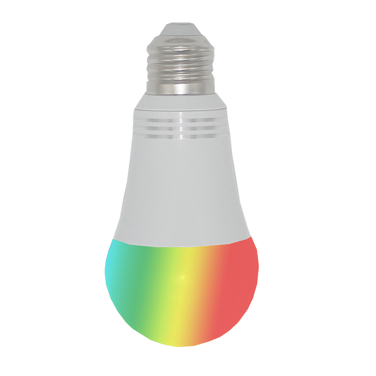 7W Aluminum Google Home  Alexa Enable App Control Smart Wifi 2.4g Wireless Dimmable WIFI dimmable led light bulb