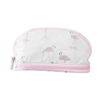 OEM Brand Printed Make Up Bag Oxford Travel Cosmetic Bag