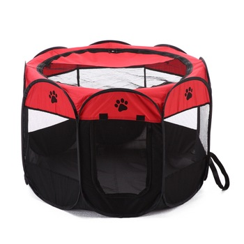 Amazon distributor New Design Portable Pet Playpen, Dog Cat Puppy Exercise Kennel, Removable Mesh Shade Cover pop up Tent