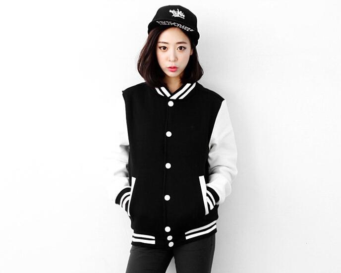 Varsity jacket for women