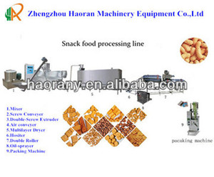 Stainless steel snack food production line