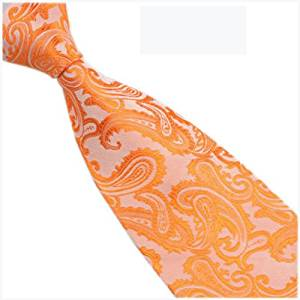 Orange Evening Tie