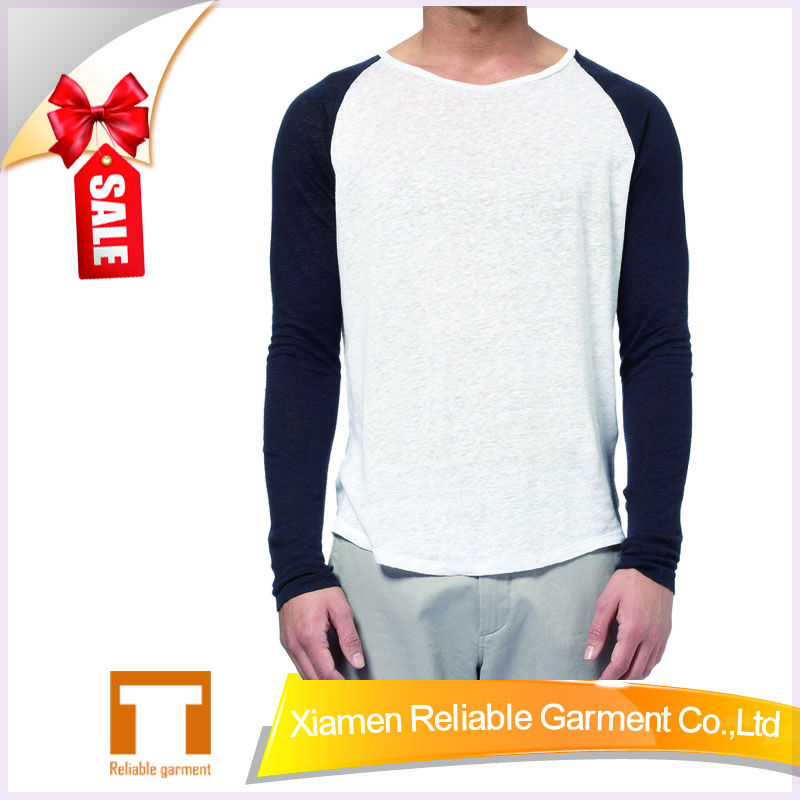 32S 100% combed cotton raglan sleeve t shirts wholesale sports t shirts OEM t shirts Supplier