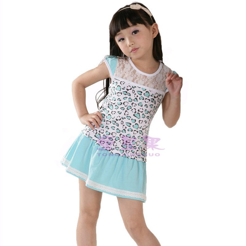 Wholesale Children S Summer Dress Baby Girls Mini Dresses