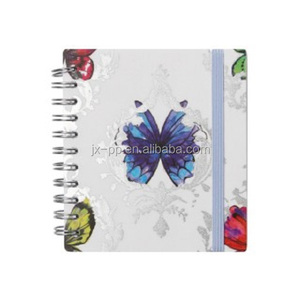 100% recycled paper 70 sheets wide ruled spiral notebook
