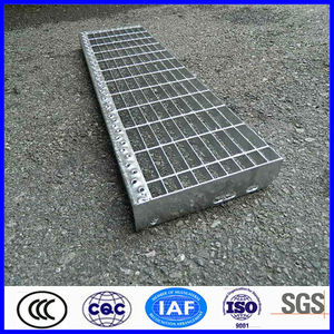 high quality galvanized metal outdoor stairs
