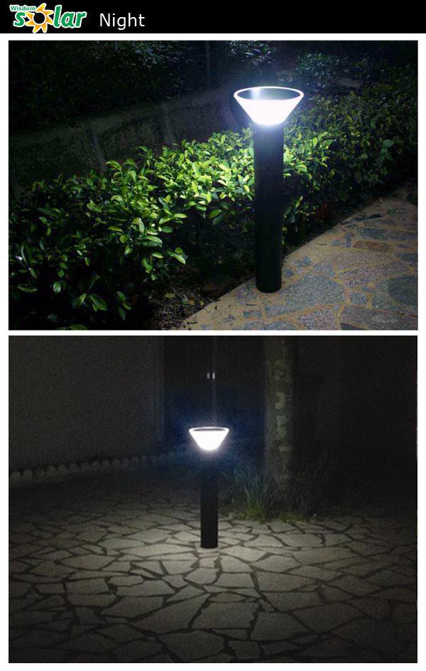 80cm Tall Solar Led Bollard Light Outdoor Lighting Landscape Light ...