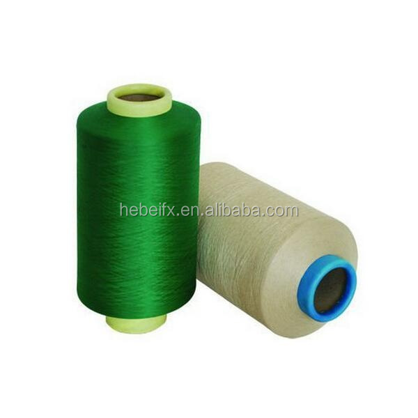 50D/24F Dyeable Double Heater Polyester Textured Filament Blended Polyamide Yarns 100% Polyester DTY Yarn