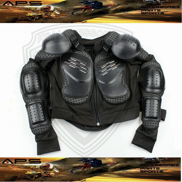 Motocross Safety Jacket for 7-10 Years Kids