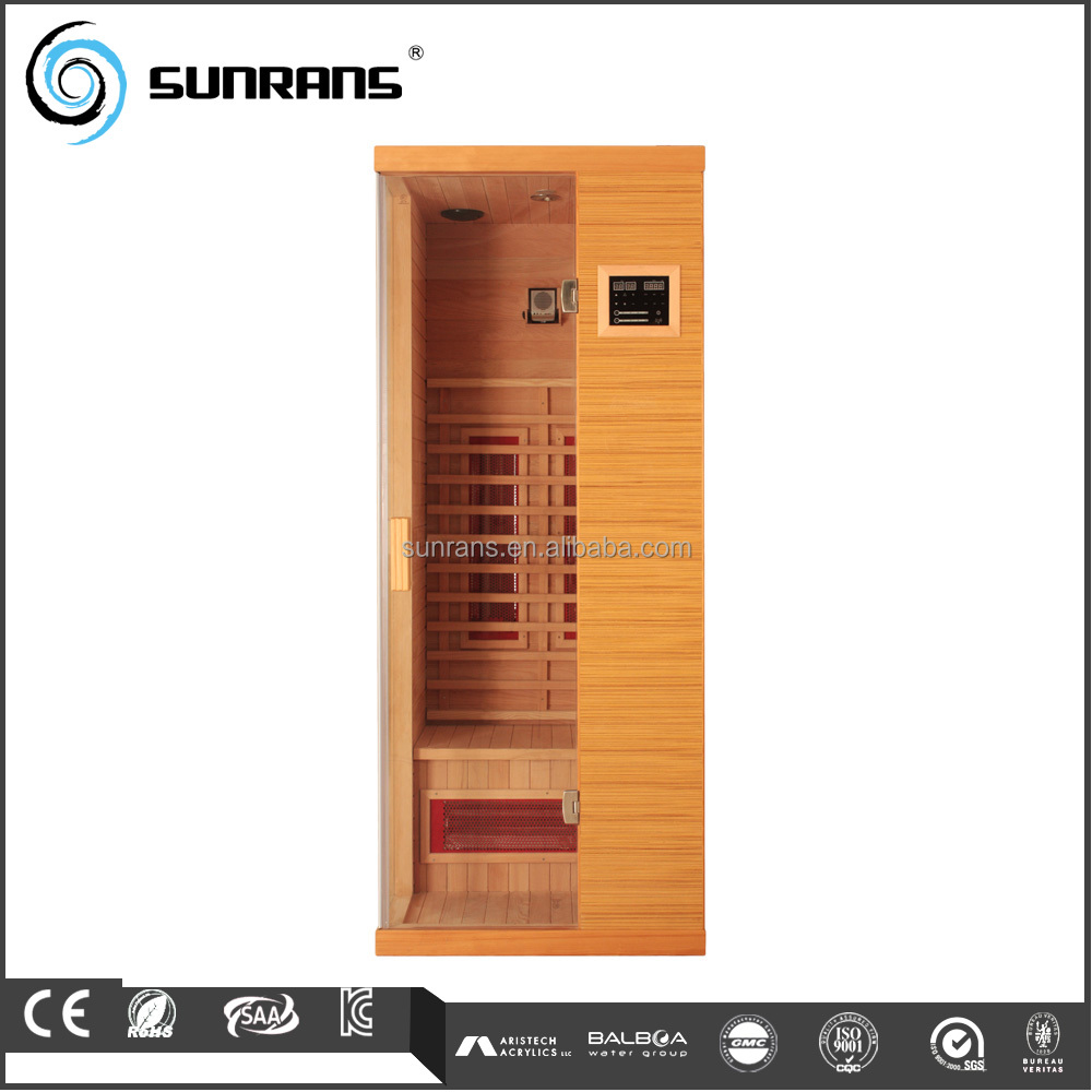 Hot sale hemlock wood dubai home portable infrared sauna