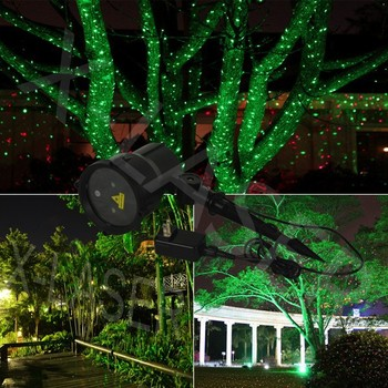 Garden Laser Light/outdoor Light Projector/christmas Laser Light Projector