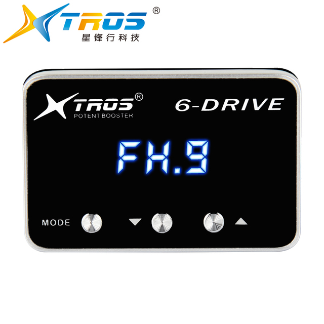 TROS 6 drive potent booster improve pedal sensitivity electronic throttle controller wind sprint booster