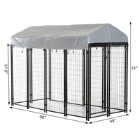 The most popular large outdoor dog fence in 2019/large outdoor dog kennels