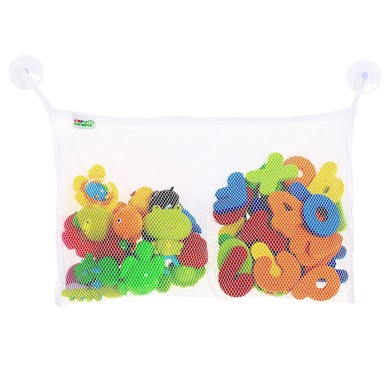 Buy TWO POCKET BATH TOY ORGANIZER - CLEARANCE DEAL - best toy bag ...
