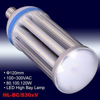 E39/e40 Base 80w/100w/120w Led High Bay Ommi-cob Bulb