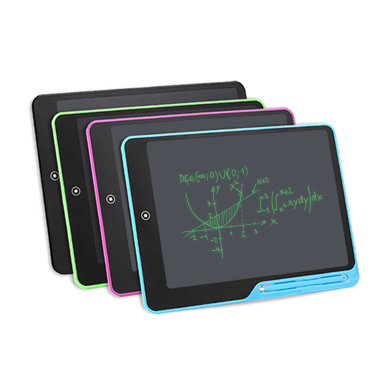 Magnetic letter and drawing board writing tablet pad for kids