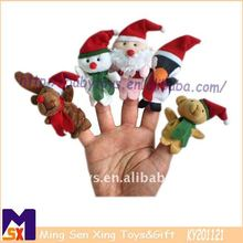 Christmas accessory,Christmas decoration,Christmas finger puppets