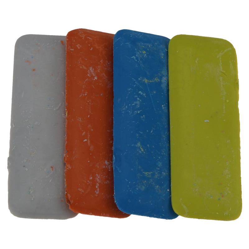MAOJIE Sastres Profesionales Tri/ángulo de Tiza Sastres de Tela borrables Marcadores de Tiza Costura de Tiza de Tela 30 Piezas