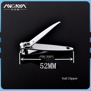 ANGNYA 2017 Professional Stainless Steel Metal Custom Nail Clipper Cutter