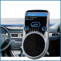 High quality Solar Power Mobile Phone Bluetooth Handsfree Car Kit