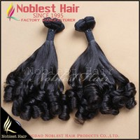 hot sale brazilian human hair extensions tip curly virgin brazilian hair weaves natural black 8-30""