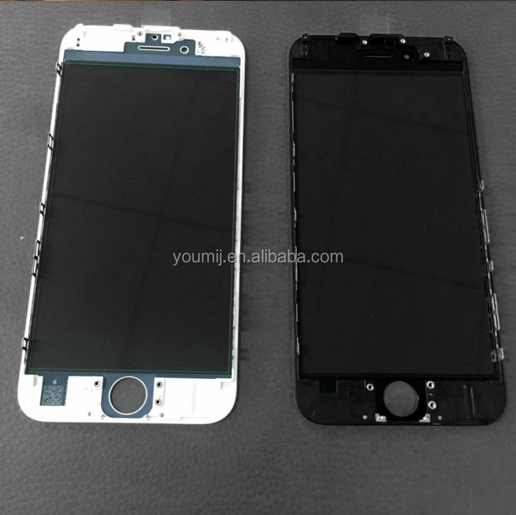 iphone 4/4s/5/5s/5c/6/6p/6s/6sp/7/7p refurbish glass frame oca