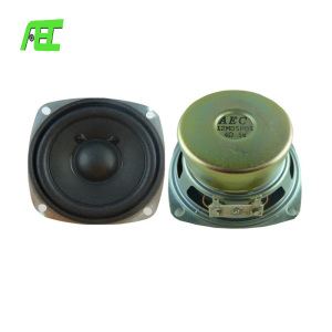 High quality 4ohm 5w 3 inch square internal replacement CB radio speaker