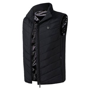 Wholesale Winter Sleeveless Polyester Custom Usb Heated Vest for Mens