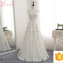 OEM Service Offered Designer Sexy Wedding Dress A Line Evening Dress Alibaba 2017