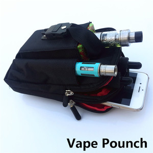 Ecig Vape Pouch OEM accept low MOQ vape carry case ecig bag
