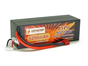 lipo battery manufactory rc car lithium ion battery 18.5V li-polymer 5200mAh 50C Lithium Polymer LiPo rechargeable Battery pack