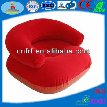Inflatable Flocked Sofa Inflatable Chair