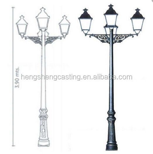 Hot sale cast iron light post designlight polepole lamp buy hot sale cast iron light post designlight polepole lamp aloadofball Gallery