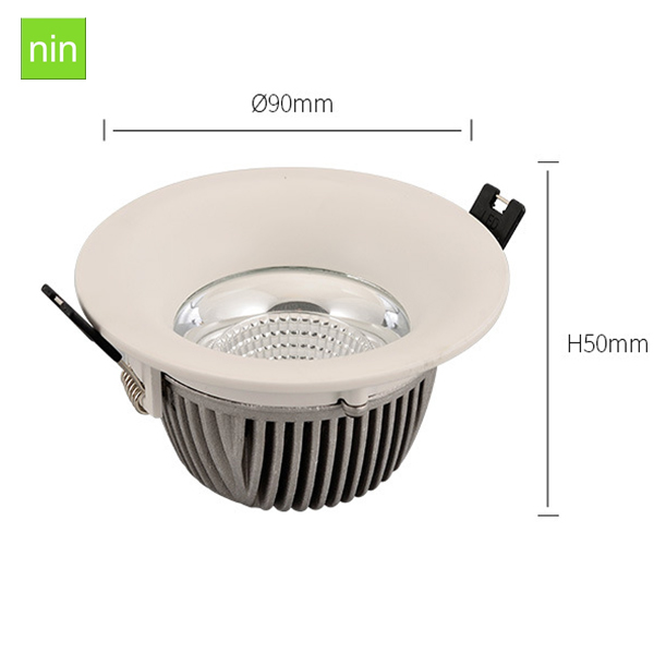 High Quality Die Cast Aluminium Housing Ip44 Dimmable 4 Inch 18W Led Downlight