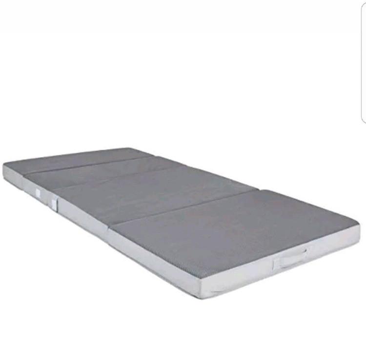 Price Sleep Well Foam Tri Fold Mattress